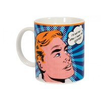 Coffee Mug - Pop Art - I'll Tell Her