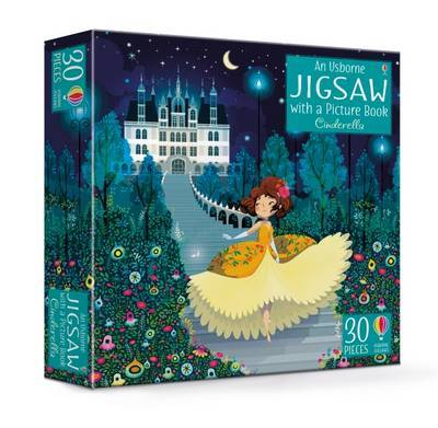 An Usborne Jigsaw with a Picture Book Cinderella by Susanna Davidson