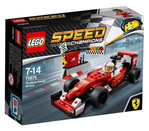 LEGO Speed Champions - Scuderia Ferrari SF16-H (75879)