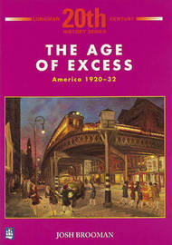 The Age of Excess: America 1920-32 1st Booklet of Second Set by Josh Brooman image