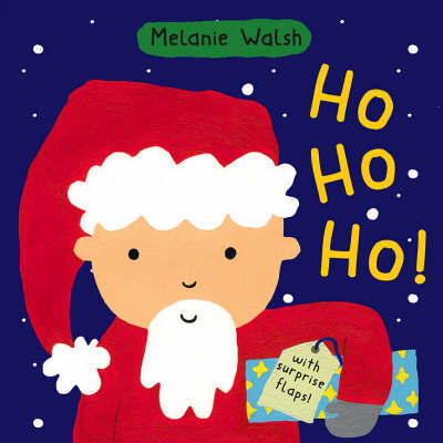 Ho Ho Ho! Board Book by Melanie Walsh image