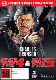 Death Wish 4 & 5 on DVD
