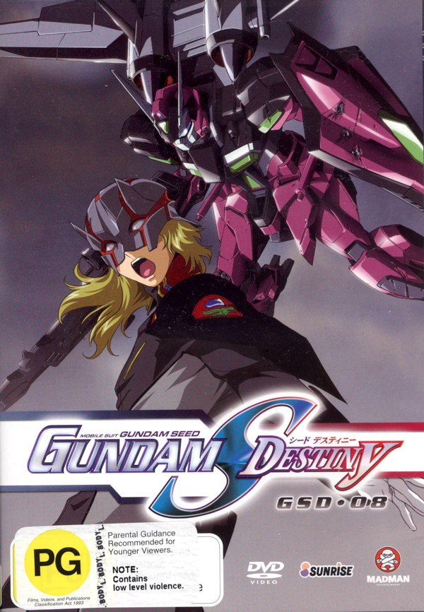 Gundam Seed - Gundam S Destiny: Vol. 8 on DVD image