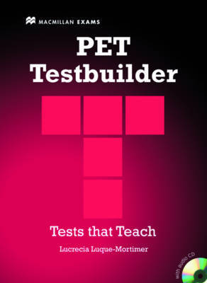 PET Testbuilder Pack with Key by L Luque-Mortimer image