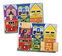 Melissa & Doug: Wooden Latches Board image