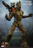 Guardians of the Galaxy Rocket Raccoon & Groot 1/6 Action Figure Set