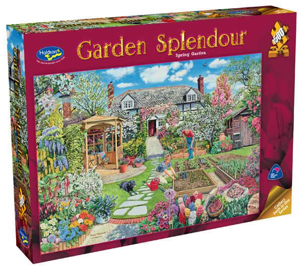 Garden Splendor 1500pc - Spring Garden
