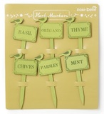 Wooden Herb Markers (Set of 6)