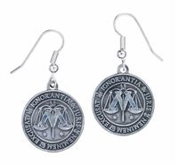 Harry Potter Earrings - Ministry of Magic (silver plated)