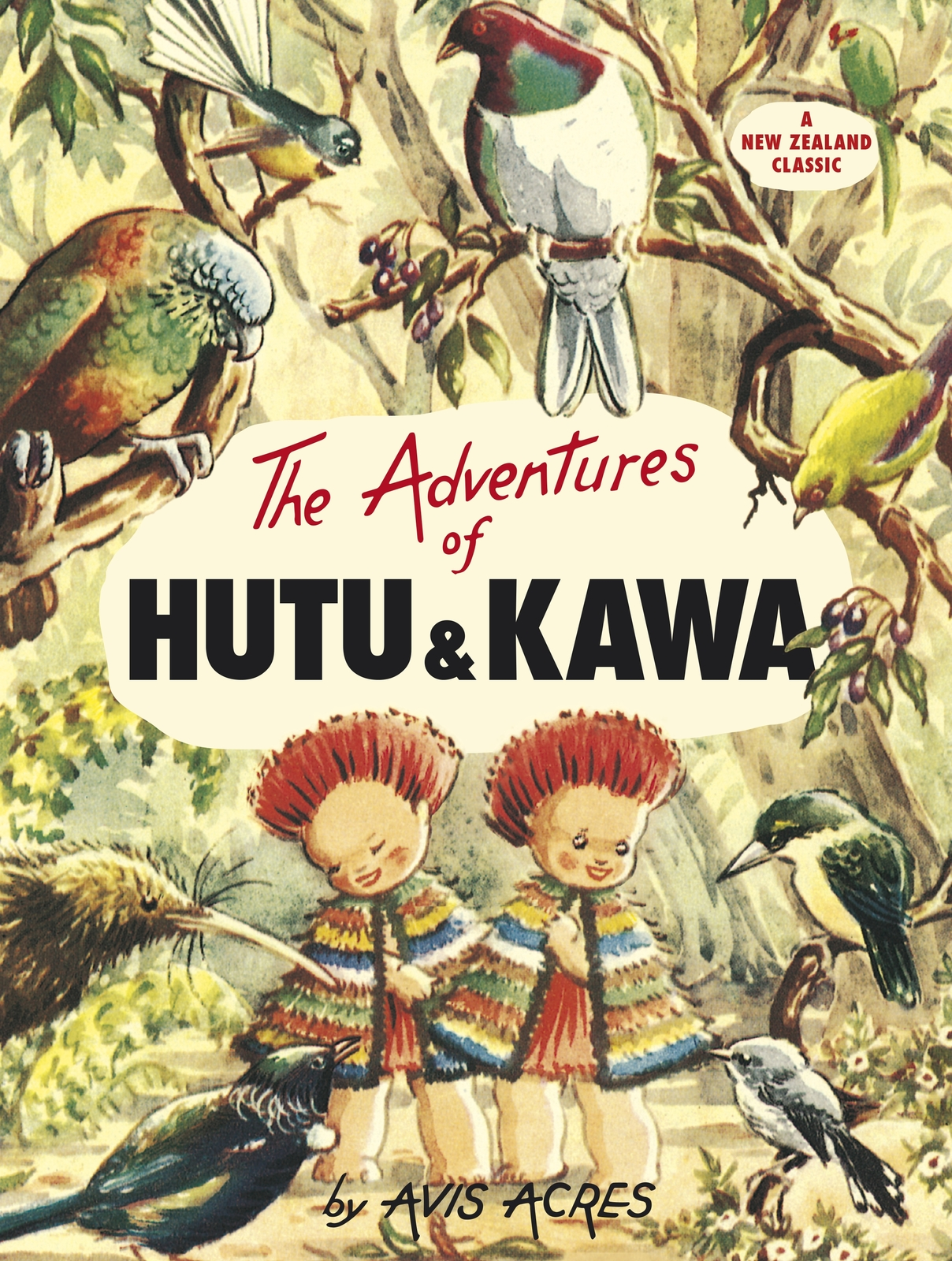 The Adventures Of Hutu And Kawa by Avis Acres image