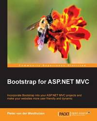 Bootstrap for ASP.NET MVC by Pieter Westhuizen