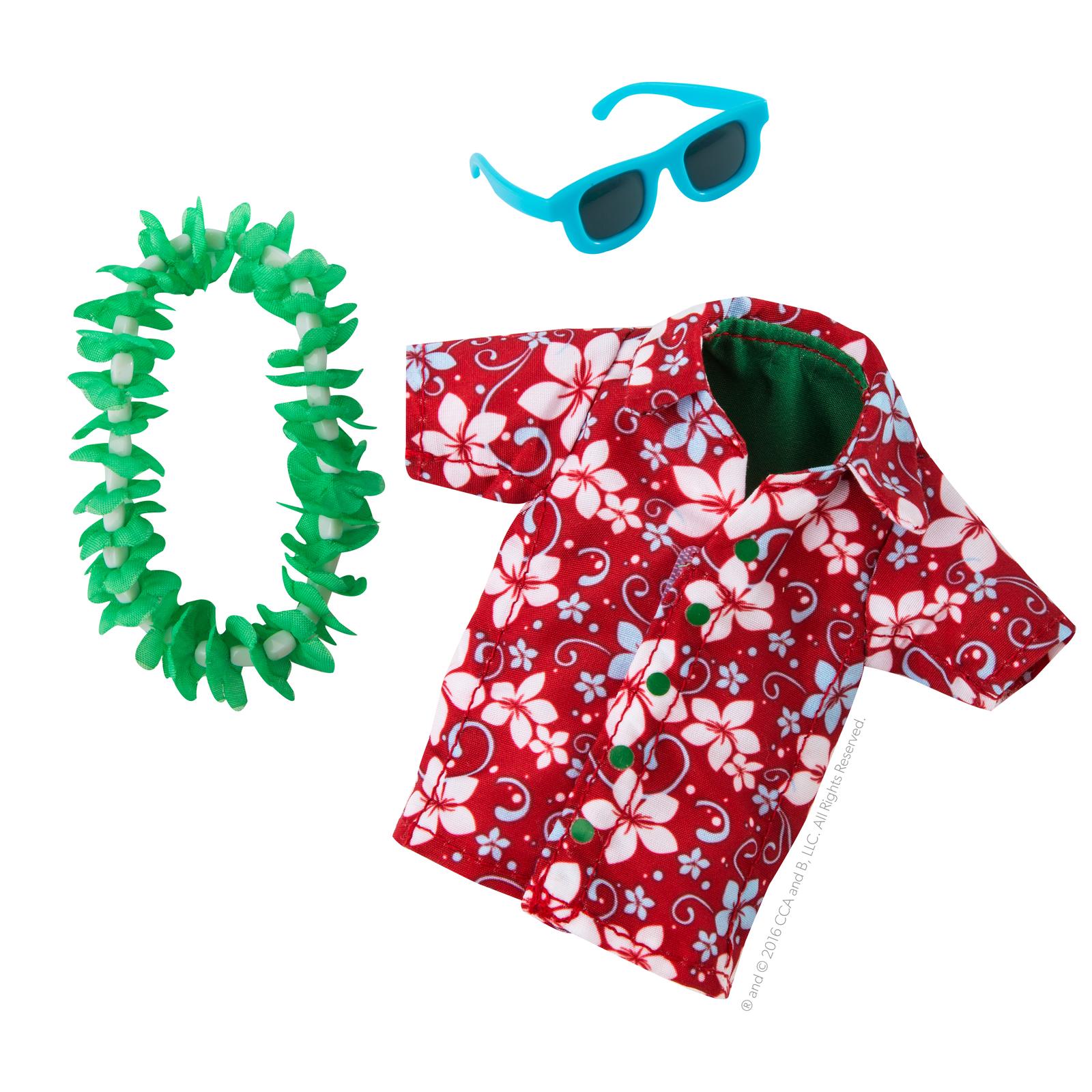 Elf on the Shelf: 2018 Couture - Hawaiian Shirt image
