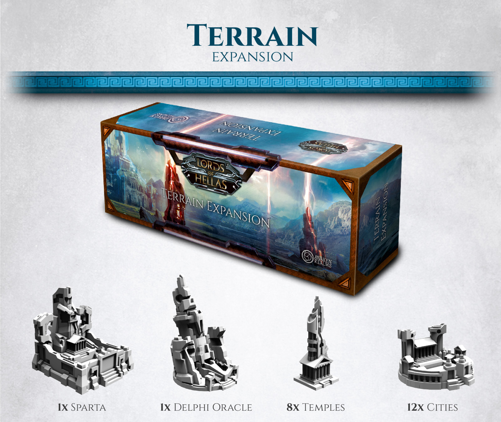 Lords of Hellas - Terrain Expansion image