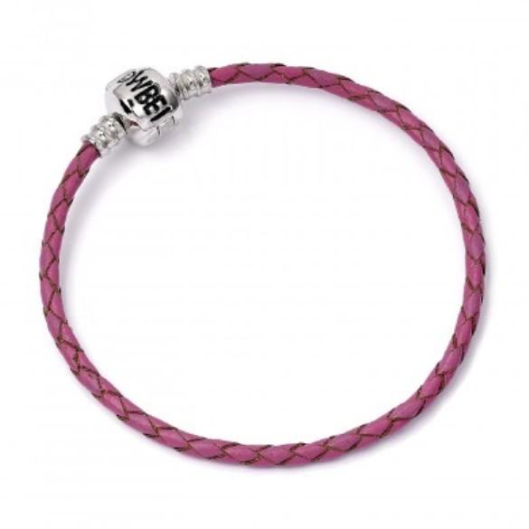 Harry Potter: Pink Leather Charm Bracelet - S