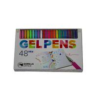 Gorilla Office: Gel Pens - 48 Pack image