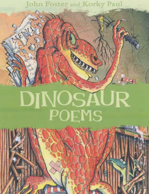Dinosaur Poems by John Foster image