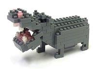 nanoblock: Critters Hippopotamus