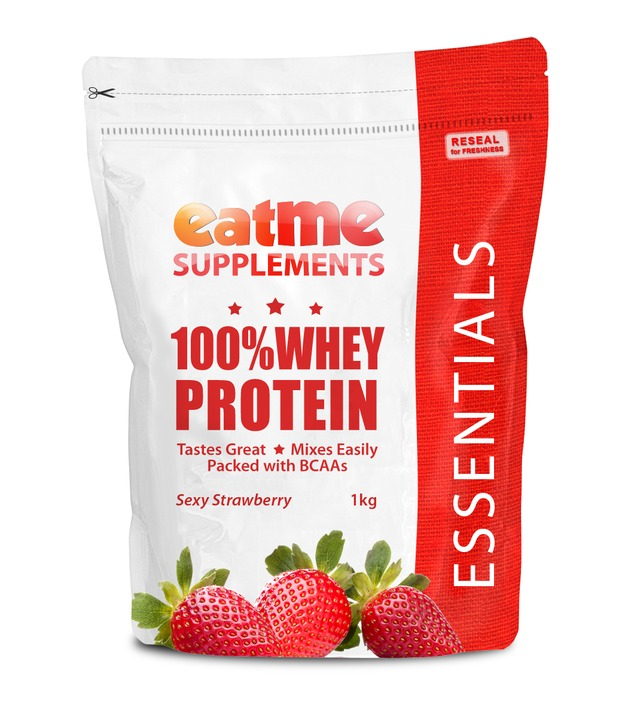 Eat Me 100% Whey Protein 1Kg (Sexy Strawberry)