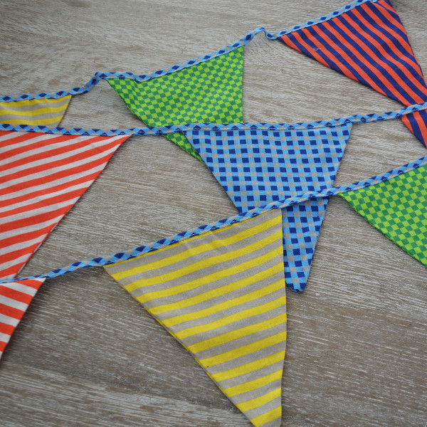 Seedling: Fabric Bunting Flags - White Rabbit image