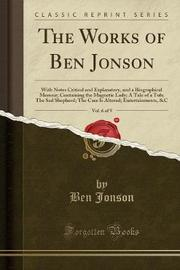 The Works of Ben Jonson, Vol. 6 of 9 by Ben Jonson image