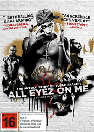 All Eyez On Me on DVD