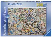 Ravensburger : Illusion Puzzle 500pc