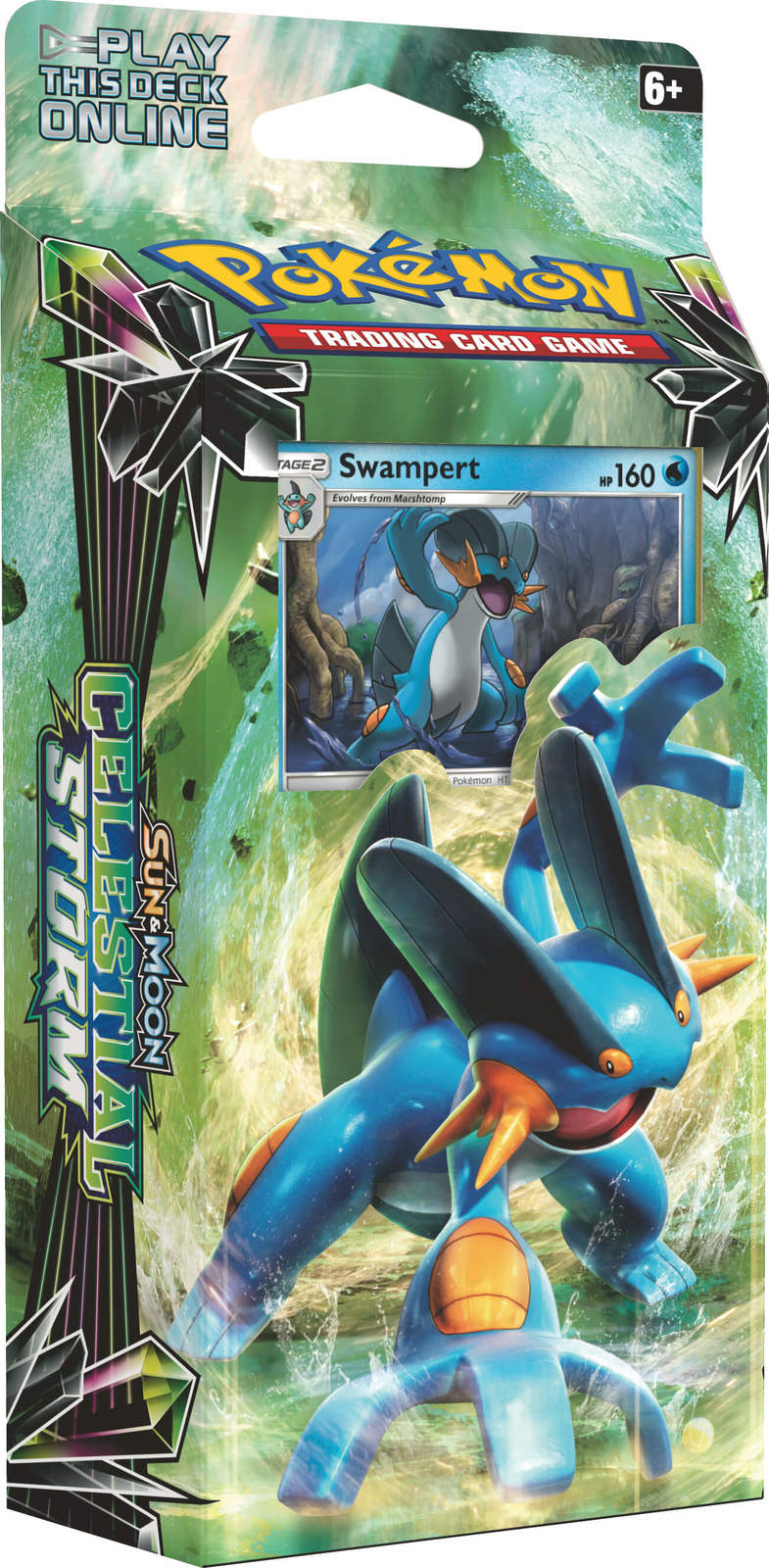 Pokemon TCG: Celestial Storm Theme Deck: Swampert image