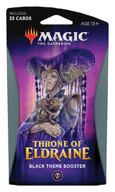 Magic The Gathering: Throne of Eldraine Black Theme Booster image