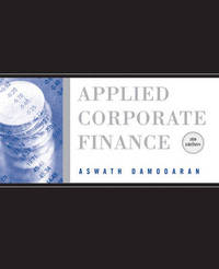 Applied Corporate Finance: A User's Manual by Aswath Damodaran image