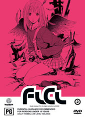 Flcl - Vol 2 on DVD
