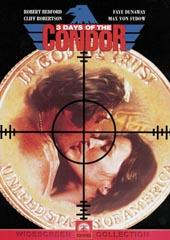 3 Days Of The Condor on DVD