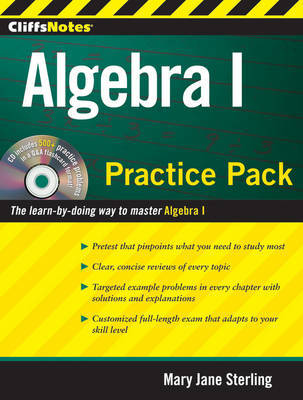 Algebra I Practice Pack by Mary Jane Sterling image
