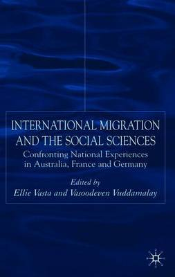 International Migration and the Social Sciences by Elli Vasta image