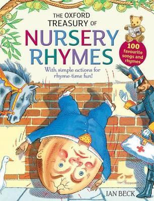 The Oxford Treasury of Nursery Rhymes by Karen King image