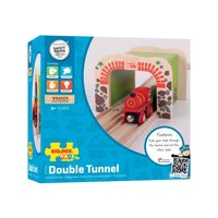 Bigjigs: Double Tunnel