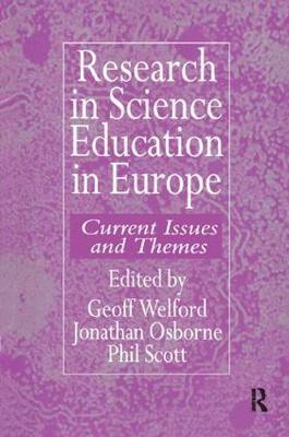 Research in science education in Europe by Geoff Welford