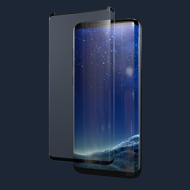 Kase Edge Night Screen Protector- Samsung Galaxy S8 Plus
