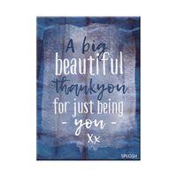 Thank-You Magnet - Beautiful