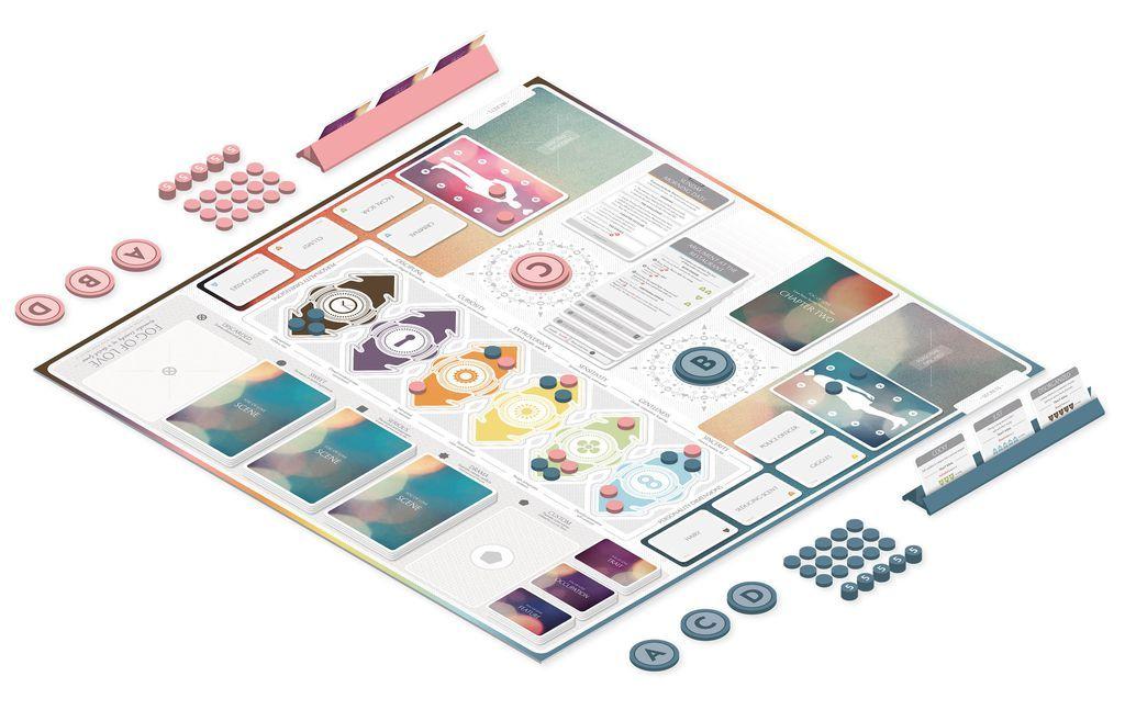Fog of Love - Board Game image