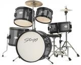 """Stagg 5pc Junior Drum Set 16"""" (Black)"""