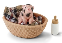 Schleich – Mini-Pig With Bottle