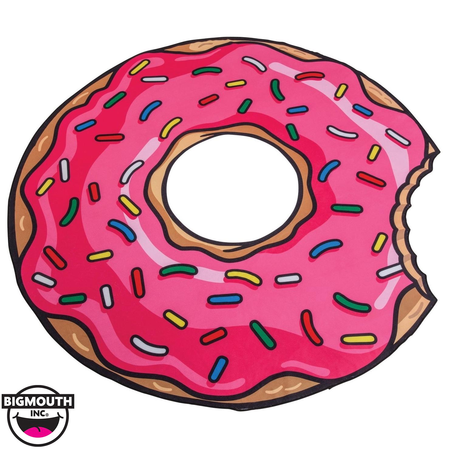 BigMouth Inc - Gigantic Pink Donut Towel image
