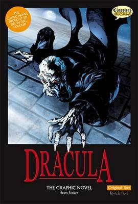 Dracula The Graphic Novel Original Text by Bram Stoker image