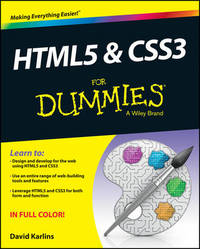 HTML5 and CSS3 For Dummies by David Karlins