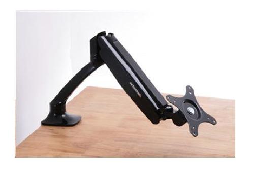 "Loctek: DLB502 Single Monitor Gas Arm Desk Mount (10"" - 27"")"