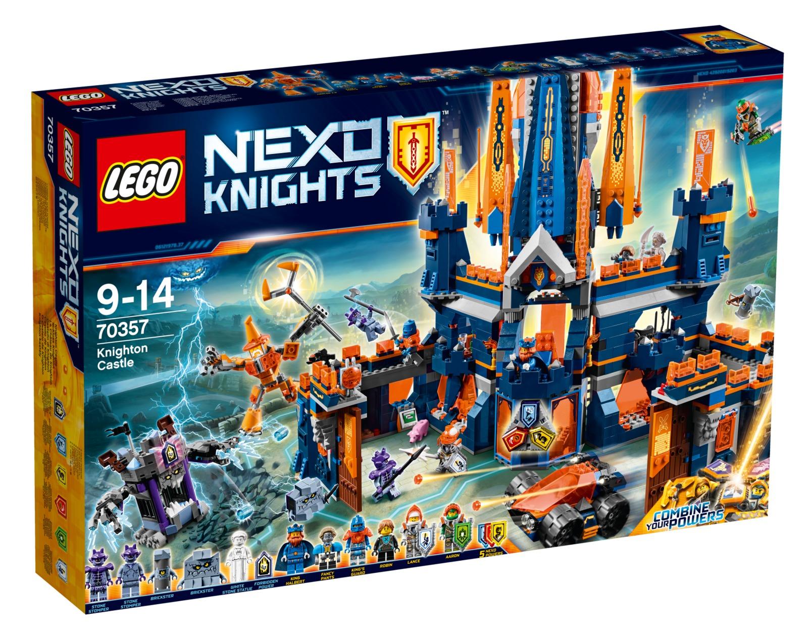 LEGO Nexo Knights - Knighton Castle (70357) image