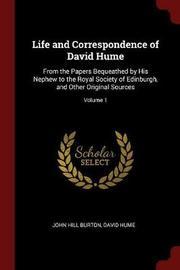 Life and Correspondence of David Hume by John Hill Burton image