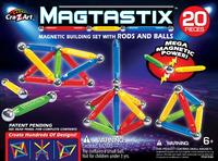 Magtastix: Magnetic Building Set - (20pc)