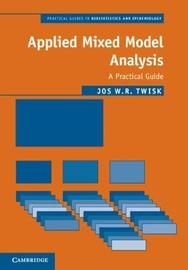 Applied Mixed Model Analysis by Jos W.R. Twisk image