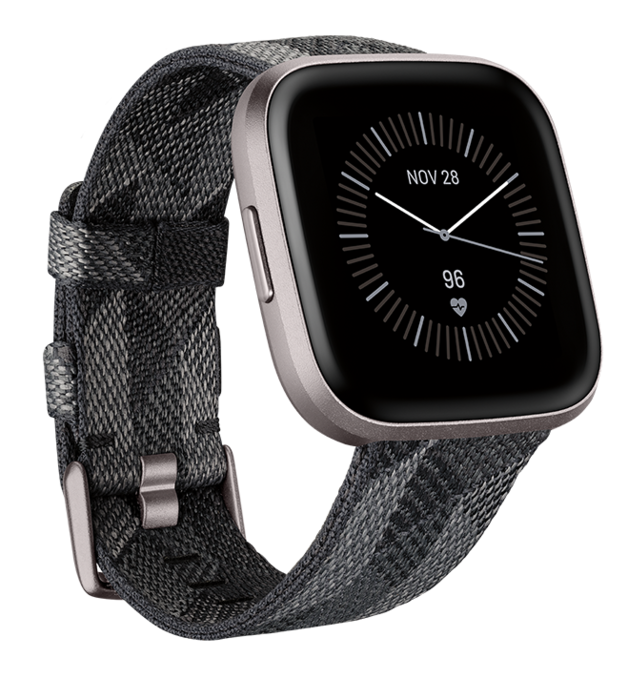 Fitbit: Versa 2 SE - Woven Smoke/Grey